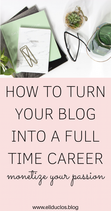 How to make money blogging! Turn your passion into a career and become a full time blogger.